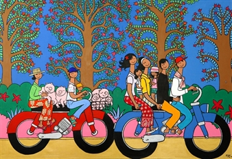 Moto-Taxi with Trees