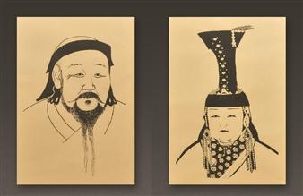 Kublai Kahn and Chabi Khatun