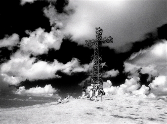 Corno's Cross and Sky