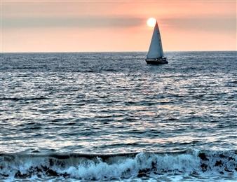 Twilight Sailing