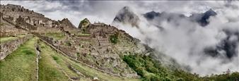 Machu Picchu First View