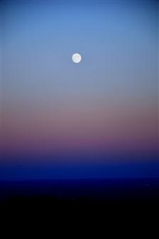 The Moon the Sky