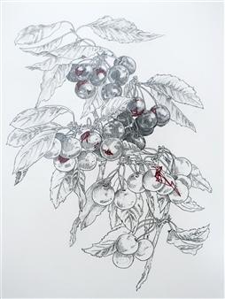 Threaded Cherries