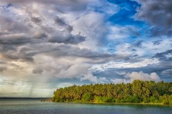 Island Squall - Randavu, Solomon Islands
