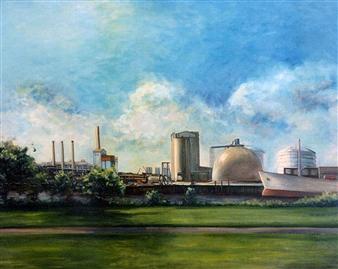 Edison Plant, Everett, Summer