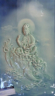 Guanyin Rides on a Lion