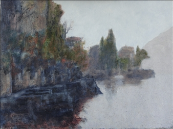 Misty morning, Varenna, Lake Como