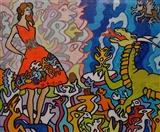 Witless Girls & Dragon