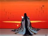 Evening Glow, 600 Scenes of Genji, Scene 68