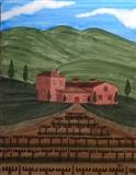 Tuscany Vineyard