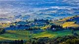Morning in Tuscany Italy
