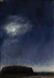 Moonlight over Uluru