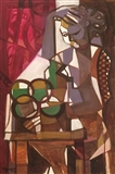 Sitter With Fruits 2