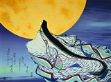 Known to the Moon Alone, 600 Scenes of Genji, Scene 578