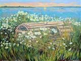 Lobster Trap in the Daisies