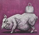 Big Pig with Bag