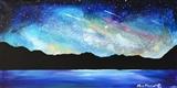Lakeshore Night Sky