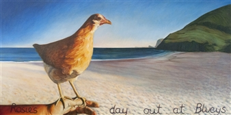 Rosie's Day Out at Bluey's
