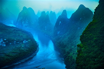 Karst Formations and Li River