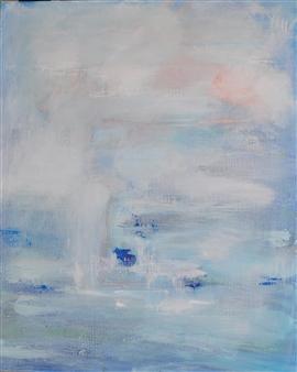 "Morning 2 Acrylic on Canvas 39.5"" x 32"""
