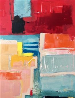 "Untitled #142 Acrylic on Canvas 28"" x 22"""