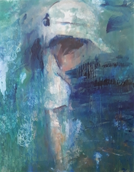 """Moments 1 Oil on Canvas 27.5"""" x 21"""""""