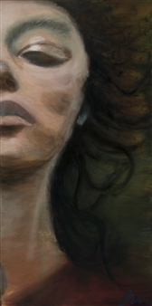 """Courage Oil on Canvas 60"""" x 30"""""""