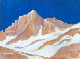 "Rock Creek Peaks Acrylic on Canvas 18"" x 24"""