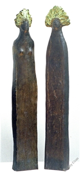 "Daphnis & Chloë Bronze 27.5"" x 10"" x 4.5"""