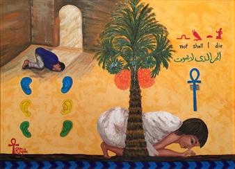 """Prayers Oil on Canvas 34"""" x 42"""""""