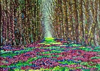 "Autumn Flowers Oil on Canvas 20"" x 27.5"""