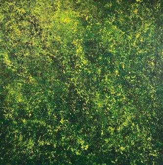 "Untitled 2 Acrylic on Canvas 39.5"" x 39.5"""