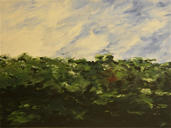 """Dempsey Hill Oil on Canvas 30"""" x 40.5"""""""