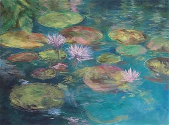 Pink Lilly Pond