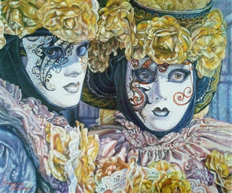 Venetian Mask 1
