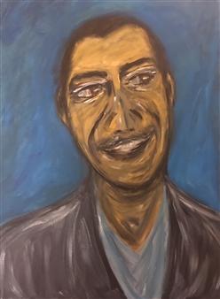 "Potus 44 Acrylic on Canvas 24"" x 18"""
