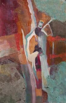 "Guardian Angel Acrylic on Canvas 24"" x 18"""