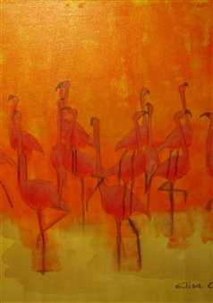 Flamencos al Sol