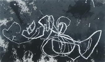 "4Xz Oil on Canvas 21.5"" x 37.5"""