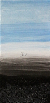 """Liberty Acrylic on Canvas 31.5"""" x 12"""""""
