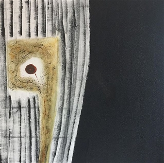 "My Mind's Eye Acrylic on Canvas 25.5"" x 25.5"""