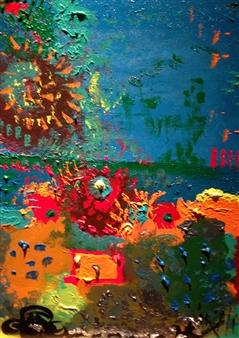 """Under The Sea Acrylic on Canvas 18"""" x 24"""""""