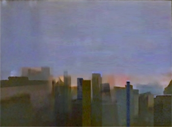 "Skyline at Sunrise Archival Pigment Print 9"" x 12"""