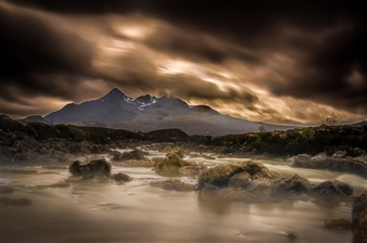 Fire in Skye
