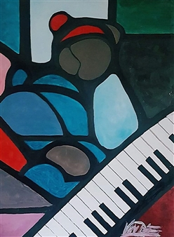 Piano Keys Frustration