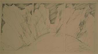 "Sketch for Landscape Pencil 12"" x 18"""