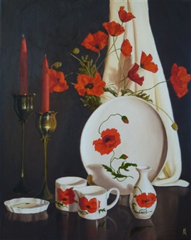 Suzie Cooper Poppies