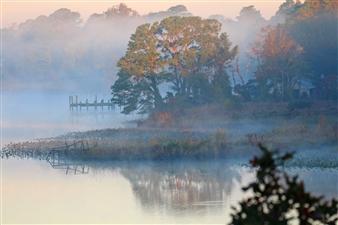 "Mystic River Photograph on Fine Art Paper 16"" x 24"""