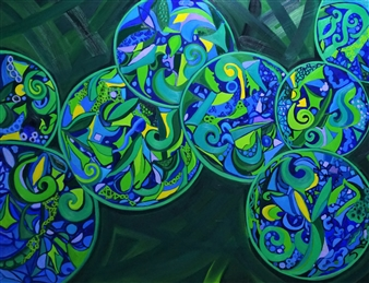 Blue Circle