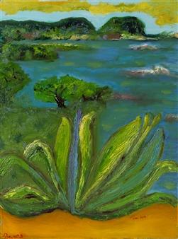 """Nostalgia Oil on Canvas 23.5"""" x 17.5"""""""